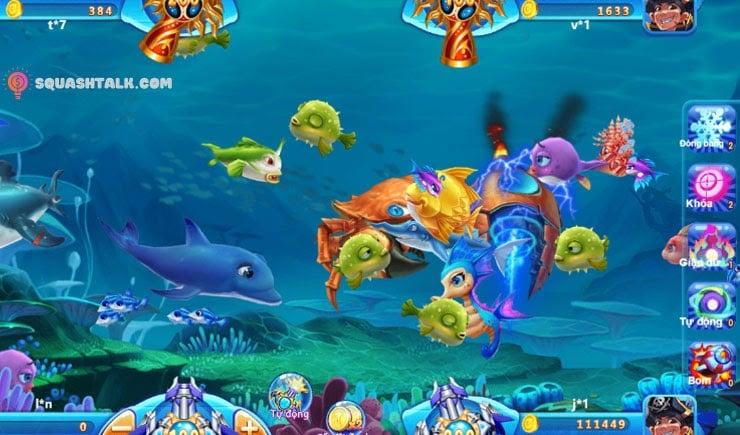 bắn cá đổi thưởng 3D